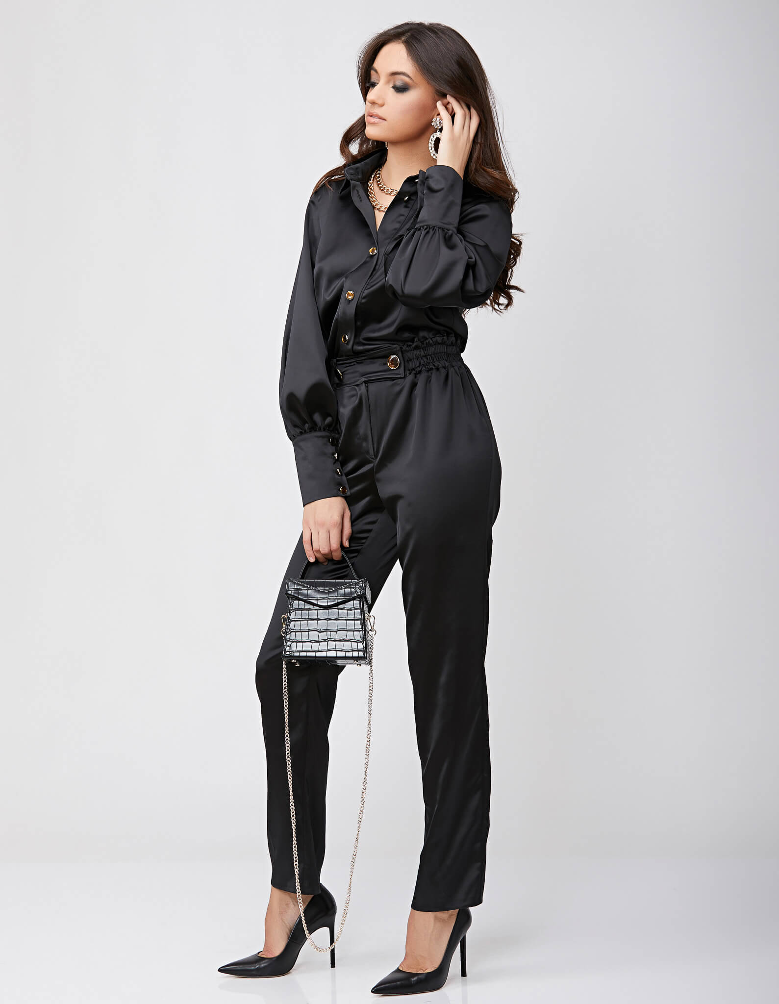 Salopeta neagra KELLY