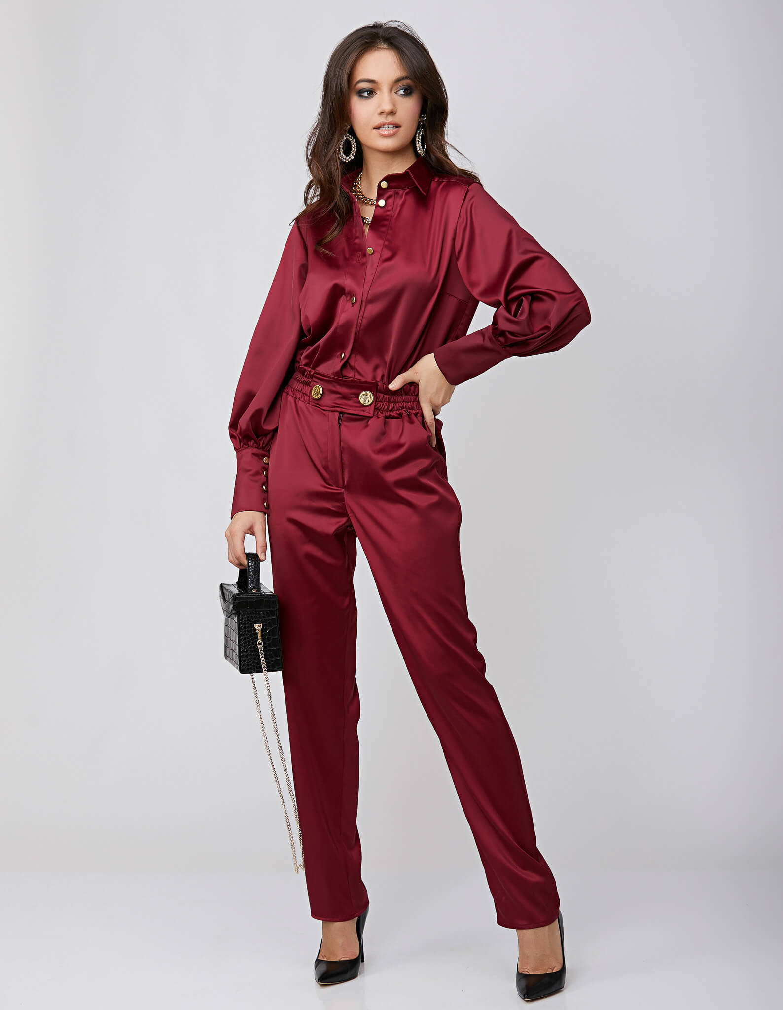 Salopeta burgundy KELLY