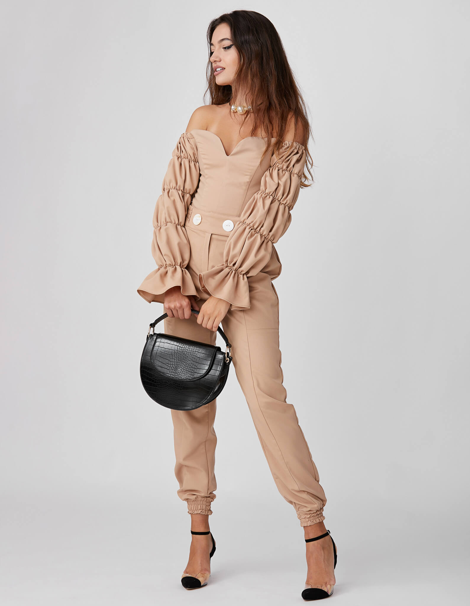 Corset camel ROSSINI